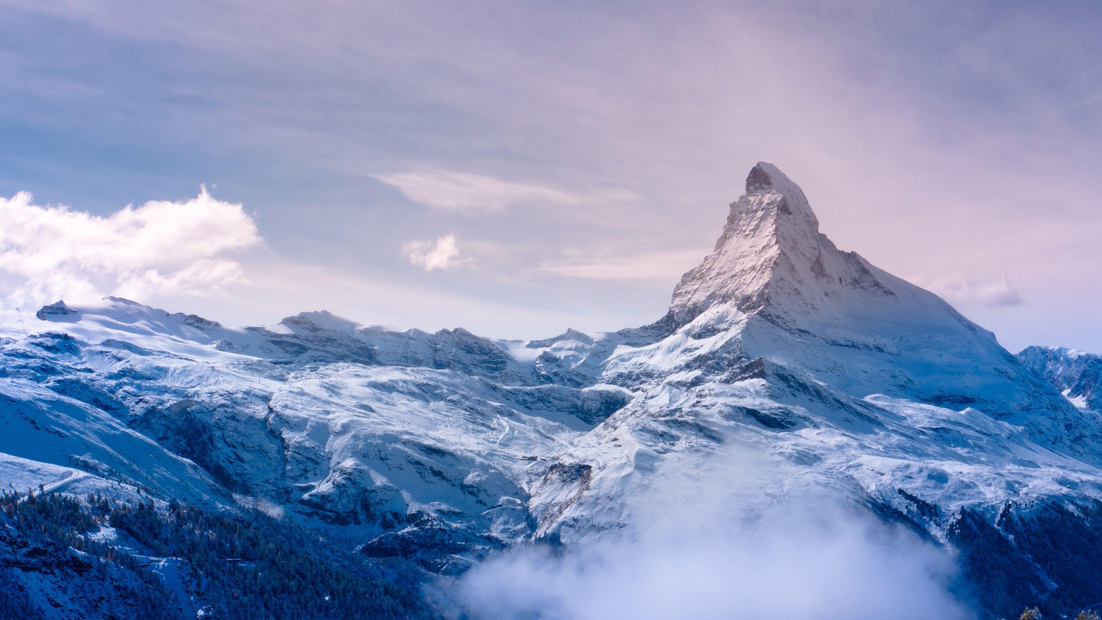 Mount Everest Nepal Zermatt 4k Hd Wallpaper Valais Switzerland Travel Tourism Resort Mountain In 2020 Mountain Wallpaper Mountain Pictures Winter Wallpaper Hd