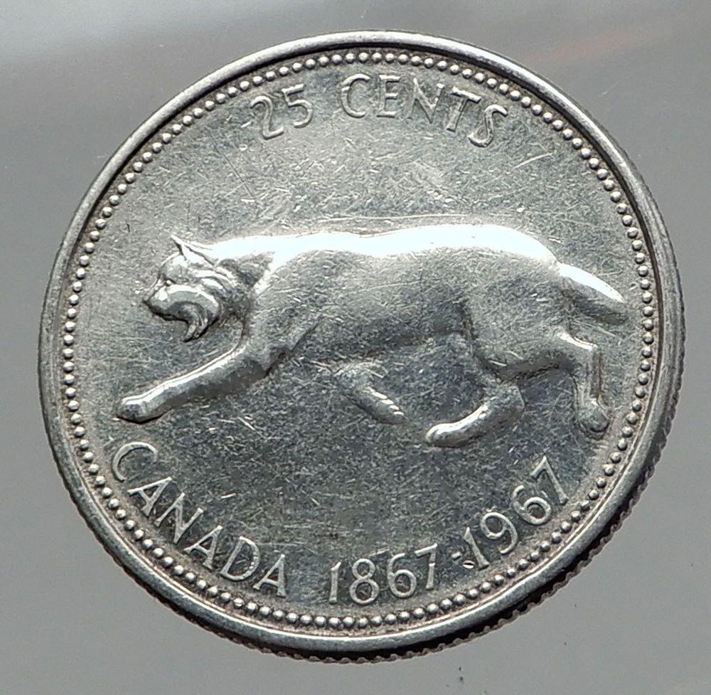 Canada 1990 Proof Like Gem Twenty-Five Cent Piece!!