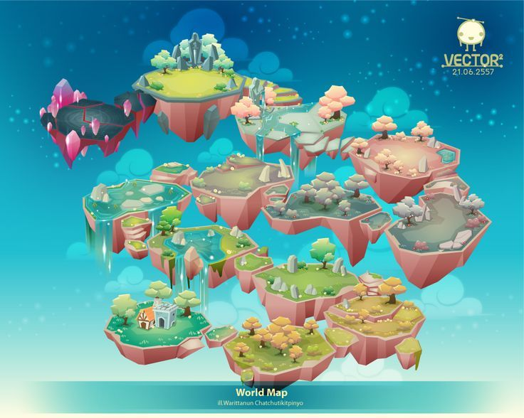 World Map on Behance maps Pinterest Behance, Game art and - new world map software download for mobile