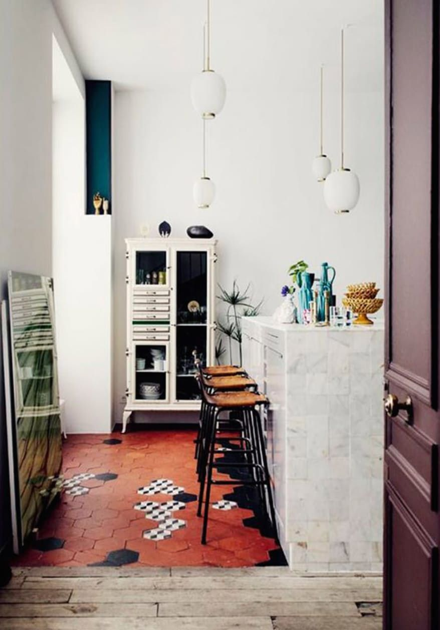 12 Beautiful Rooms with Terra-cotta Tile | Subway tiles, Kitchens ...