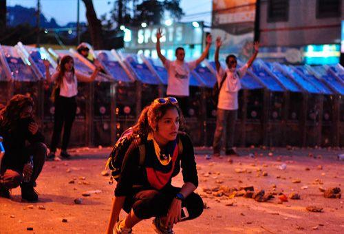 Manifestación en Venezuela. Foto: AndresAzp (CC-BY-NC-ND-2.0)