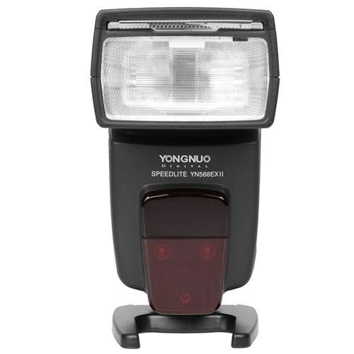 YONGNUO YN568 EX II TTL Flash Speedlite with High Speed Sync for Canon 1Dx, 1Ds series, 1D series, 5DIII, 5DII, 5D, 7D, 60D, 50D, 40D, 30D, 20D, 650D/T4i, 600D/T3i, 550D/T2i, 500D/T1i, 450D/Xsi, 400D/Xti, 350D, 1100D, 1000D YONGNUO