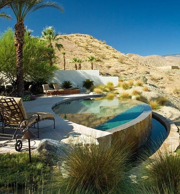 Home decor inspiration from the sonoran desert deserts infinity and backyard - Small infinity pool ...