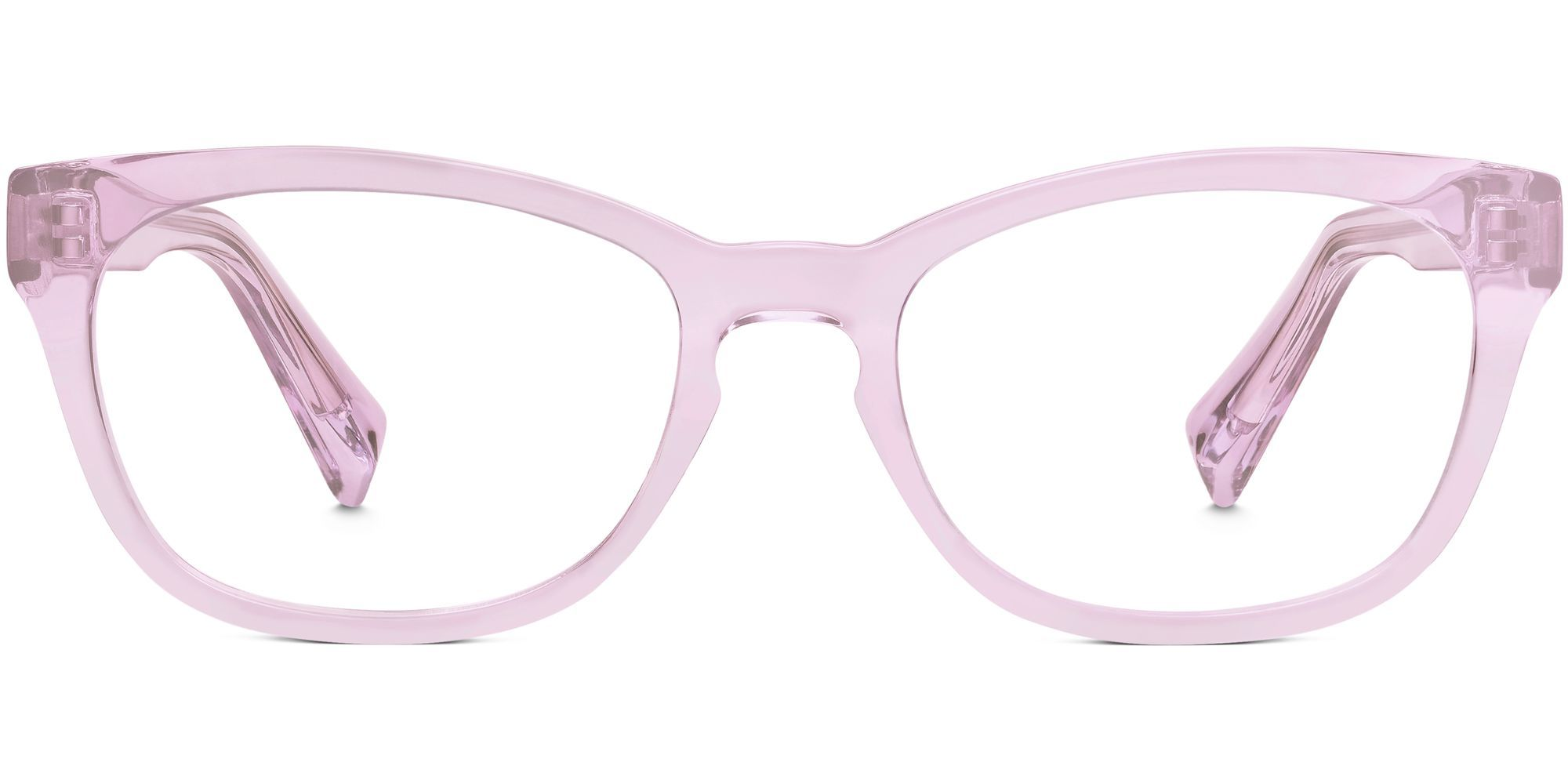 f54e4be4d7 Front of Finch in Lilac Crystal Warby Parker