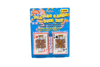 Playing Cards & Dice-2 Pack A$5.95