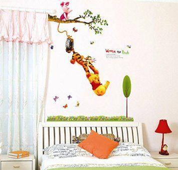 Winnie The Pooh Tigger Loft 520 Kids Nursery Room Wall Art Sticker