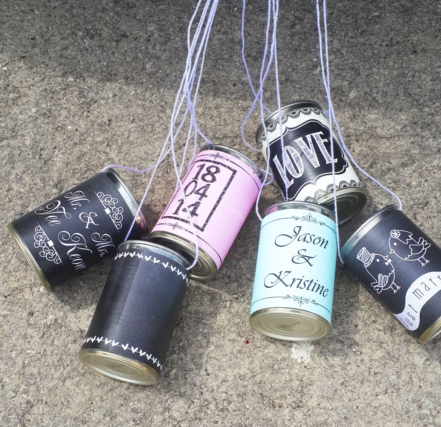 Wedding Car Cans Customized Getaway Just by