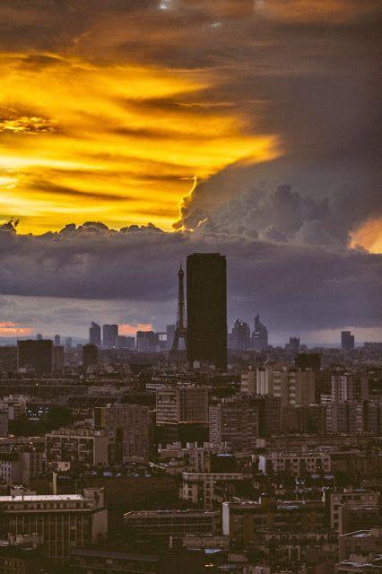 Paris skyline by Helene Pambrun, Paris Match photographer