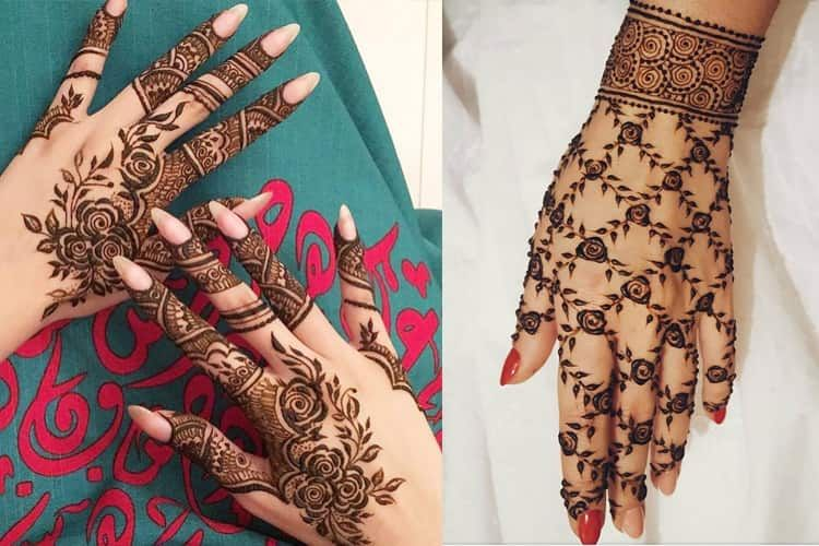 Top 10 Beautiful Mehndi Designs For Happy New Year 2020 Full