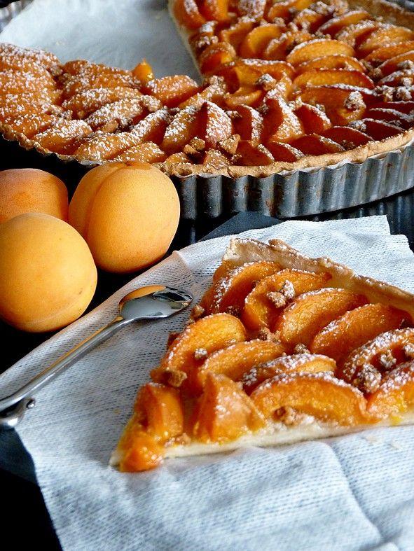 Tarte abricot spéculoos cannelle