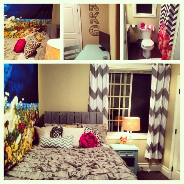 My room!:) first college apartment | room next year | Pinterest ...