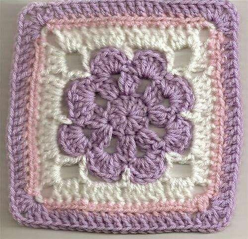 crochet granny square pretty colour combination knitting and crochet. Black Bedroom Furniture Sets. Home Design Ideas