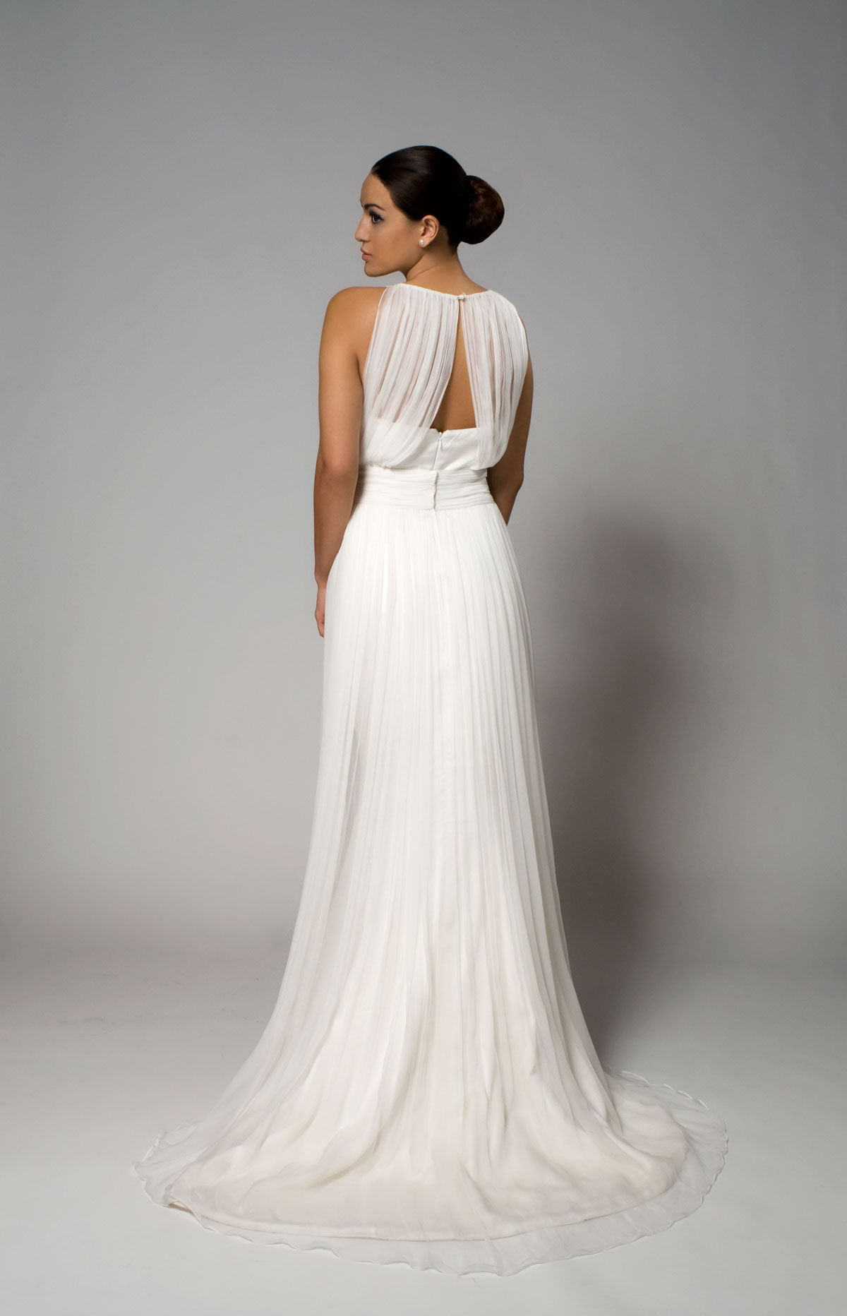 Esther with Esther Overlayer- Eco-friendly wedding dress with a ...