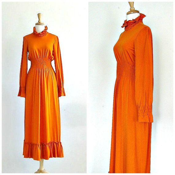 Vintage 1960s Manning Silver Dress By Roguevintage 75 00 Orangedress 60sdress Fall