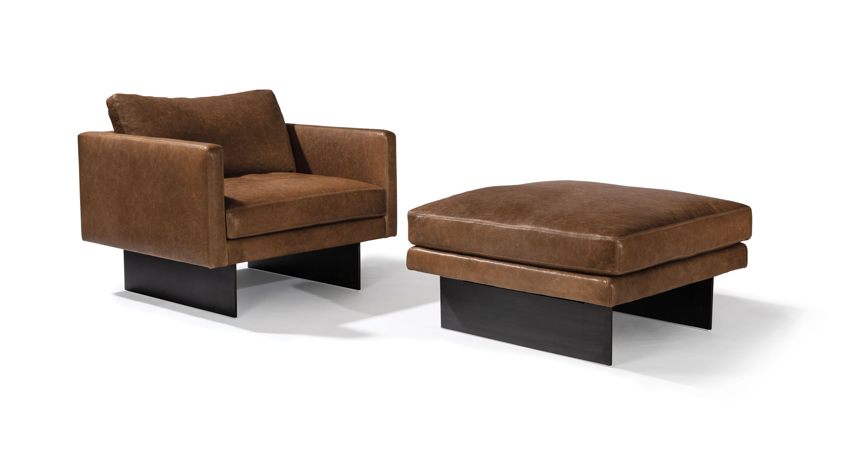 Blade Lounge Chair And Ottoman From Thayer Coggin With Images