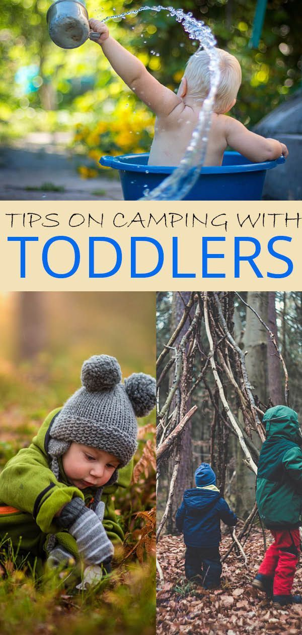 Camping with toddlers - our hacks