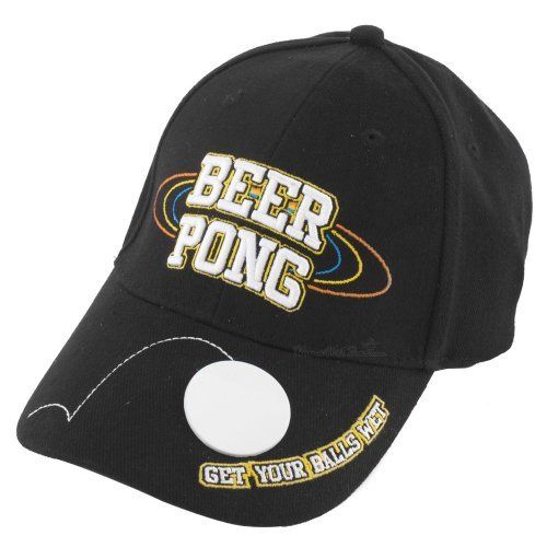 Beer Pong Bottle Opener Baseball Cap by HomeWetBar. $10.50. Save 34% Off!