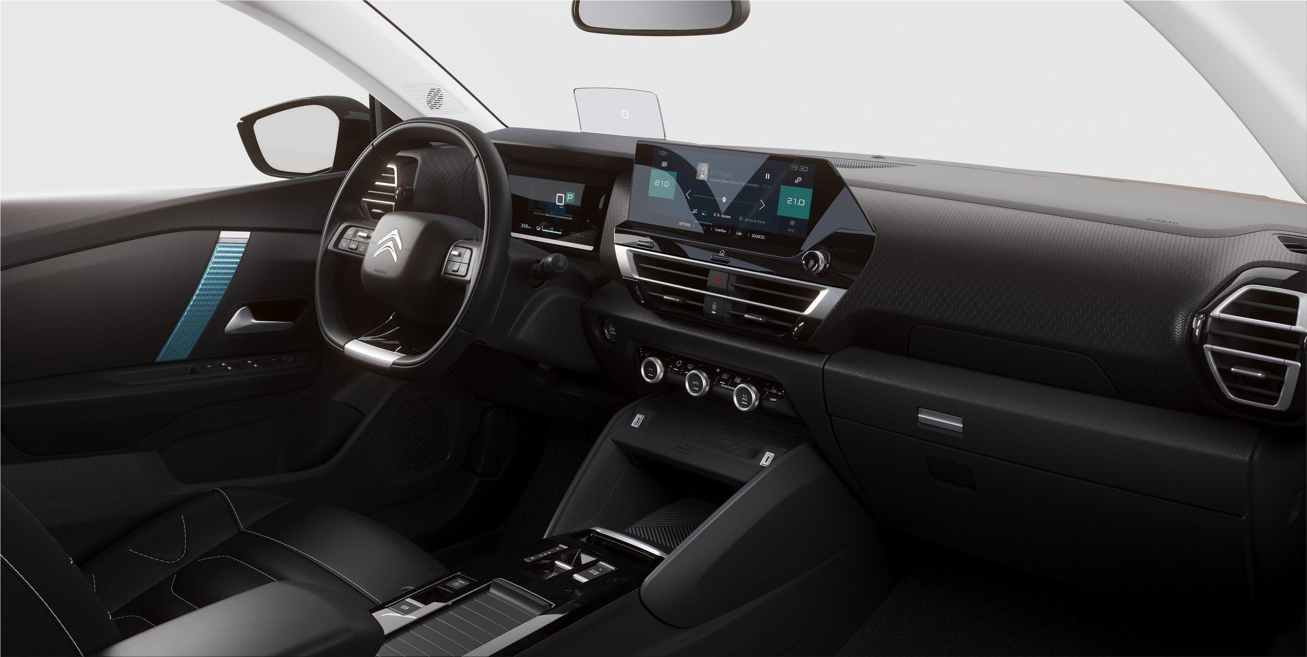 Citroën ë-C4 fully electric car #citroen #c4 #electriccar