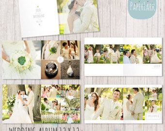 Square album template for photoshop 10 spreads20 por memorymp wedding album template 12 x 12 photoshop di paperlarkdesigns pronofoot35fo Images