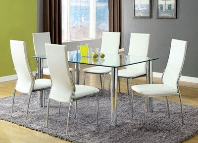 "$665  Dimensions  Table  length	59""  width	35 1/2""  height	30""  Side Chair  width	17 1/4""  depth	22 3/8""  height	40"""