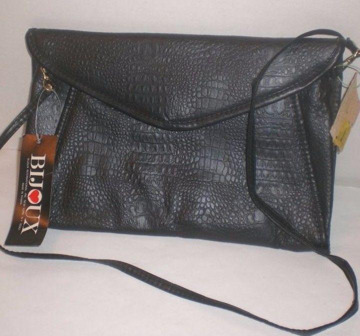 Vintage Handbag Purse Bijoux International Women S Faux Leather Shoulder Bag Nwt Clothing Shoes Accessories Handbags Bags Purses