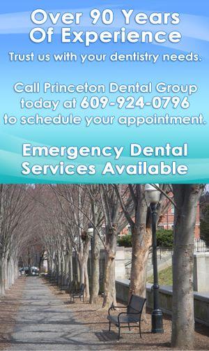 Take care of your smile at Princeton Dental Group