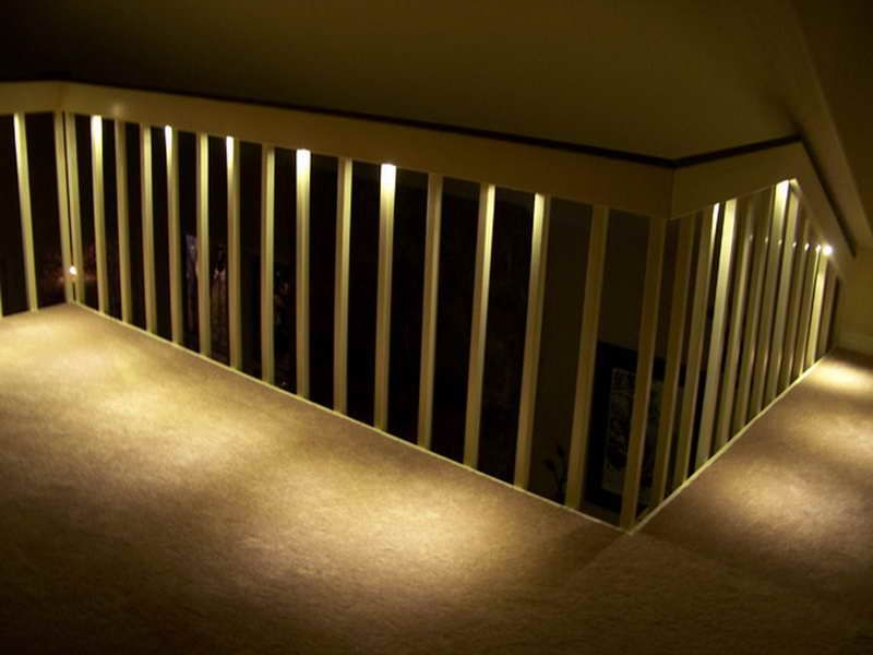 Canned Ceiling Lights Basement Stairs: Tiny LED Lights Are Perfect For Safely Lighting Stairs And