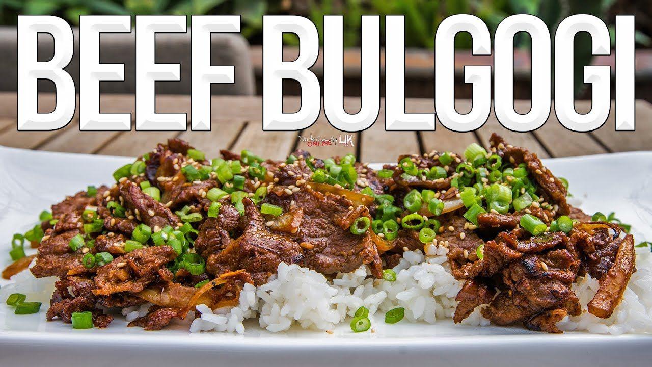 Easy Korean-Style BBQ Beef Bulgogi Recipe   Cooking Video ...