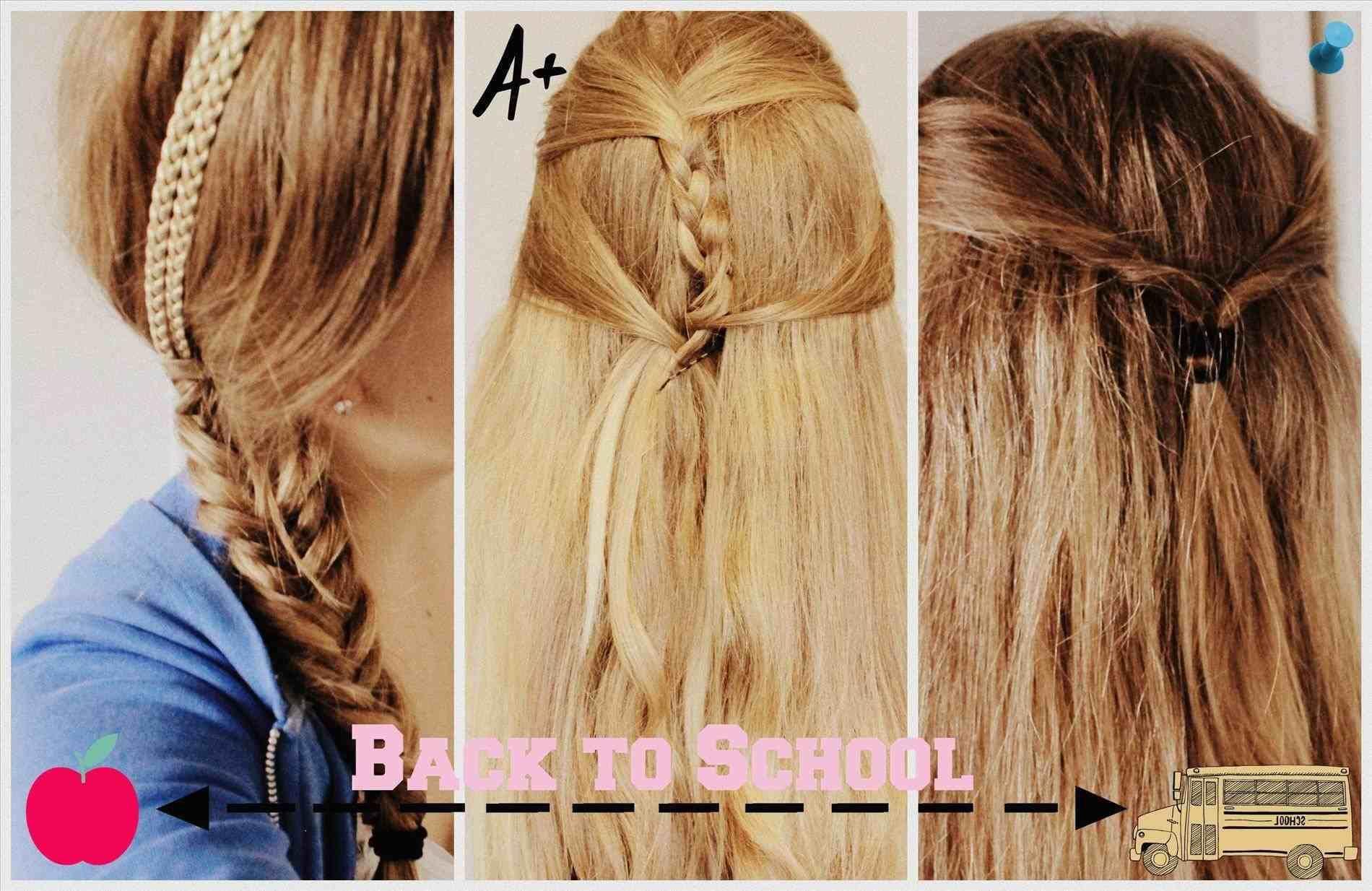 Cute Easy Simple Hairstyles For School simple hairstyles for school