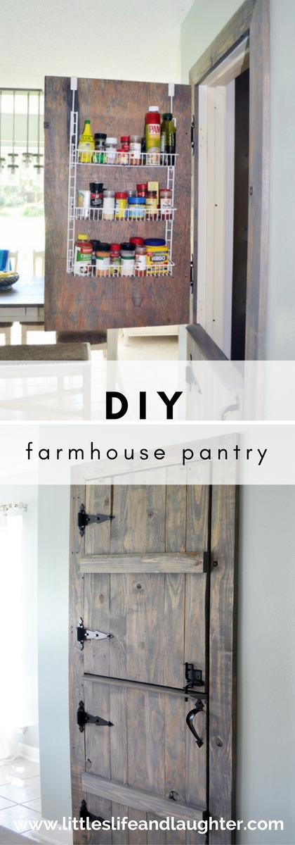 DIY Farmhouse Pantry Door | | Littles, Life, & Laughter | | Barn