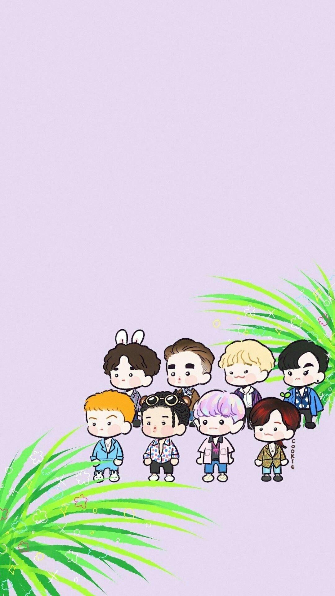 Kartun Exo Wallpaper
