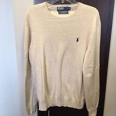 Ralph Lauren Polo Crewneck Sweater Mens Size Medium