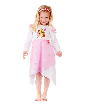 e9131876b916 Take a look at this Tinkerbell Nightie & Flower Headband - Girls by Playama  on #zulily today!