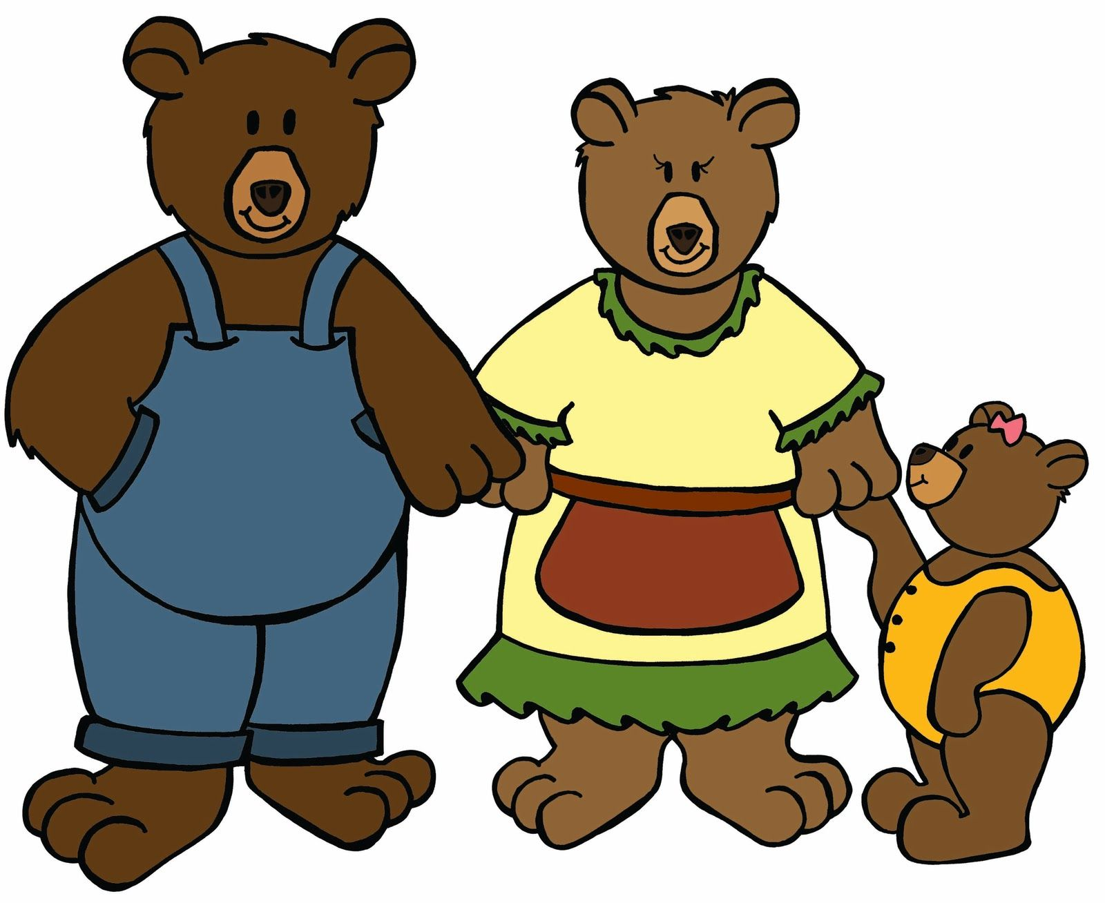 goldilocks and the three bears clipart cliparts co goudlokje en de rh pinterest com au goldilocks bears clipart goldilocks clip art free