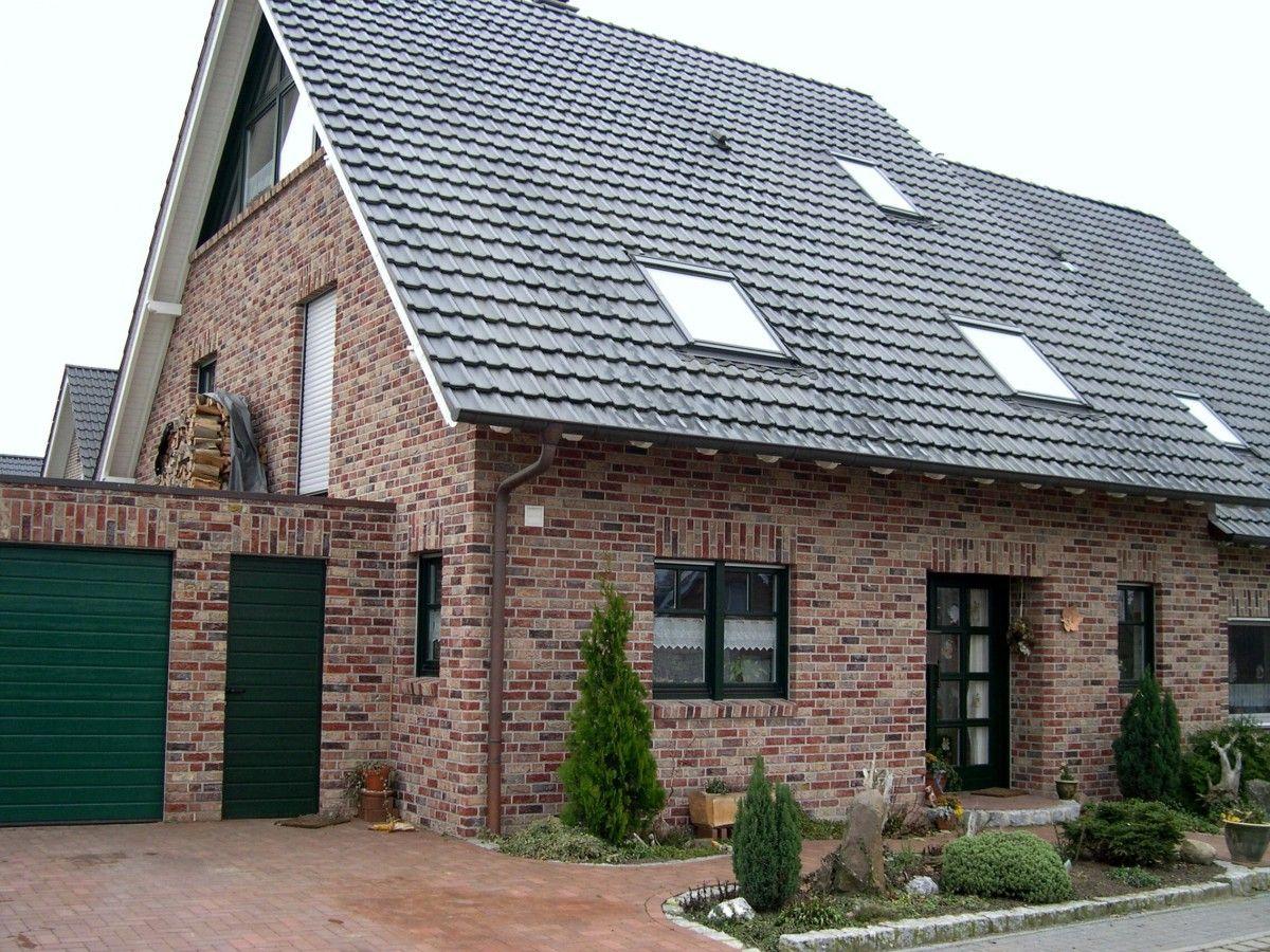 Handform Riemchen K130R Häuser klinker, Fassade haus