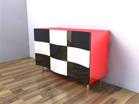 Alabama console by Peter Stern Furniture Design, Stand J12, Hall T5