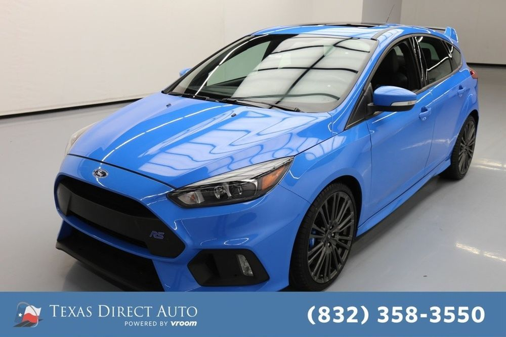 For Sale 2016 Ford Focus Rs Texas Direct Auto 2016 Rs Used Turbo