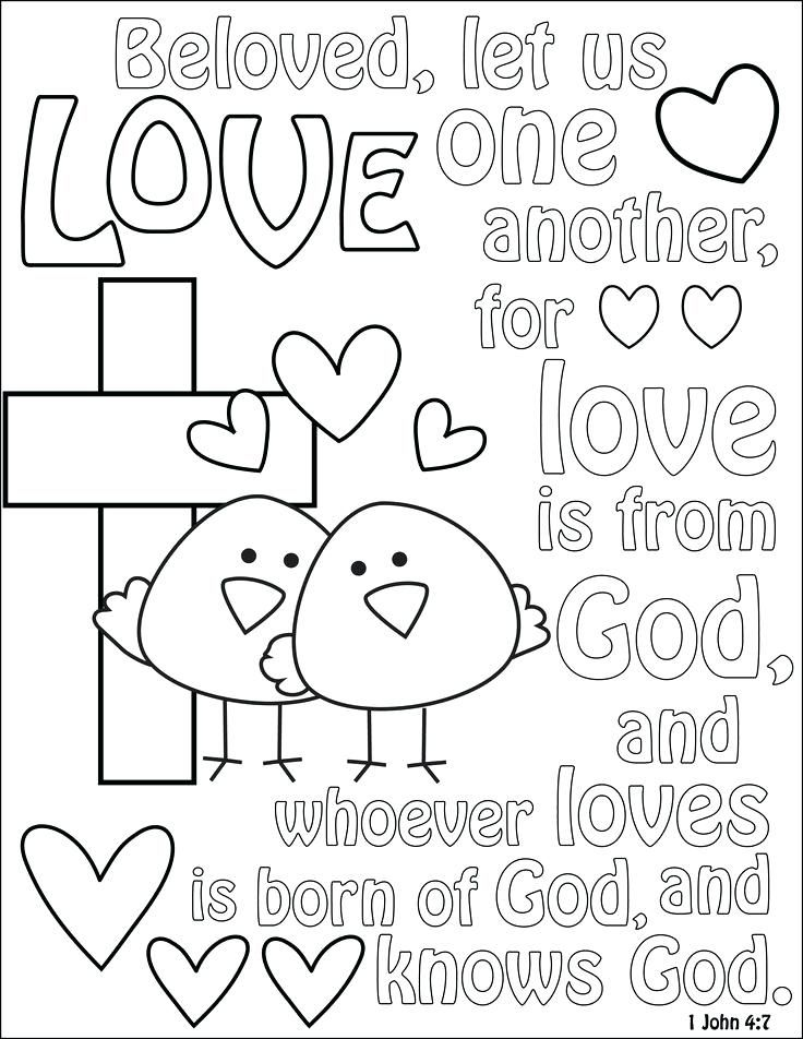 Love Coloring Sheet Love One Another Coloring Page Coloring Sheet Love One Another Love Coloring Pages Bible Coloring Pages Scripture Coloring