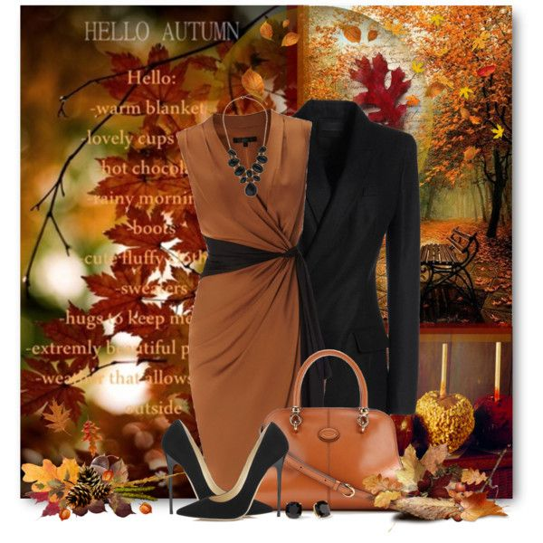 """Fall Fashion & Food"" by brendariley-1 on Polyvore"