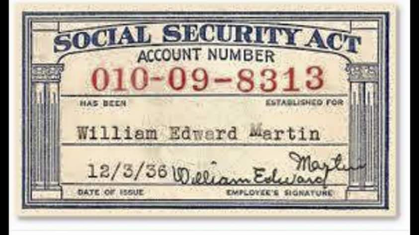 George Scoggins History Lesson On Your Social Security Card