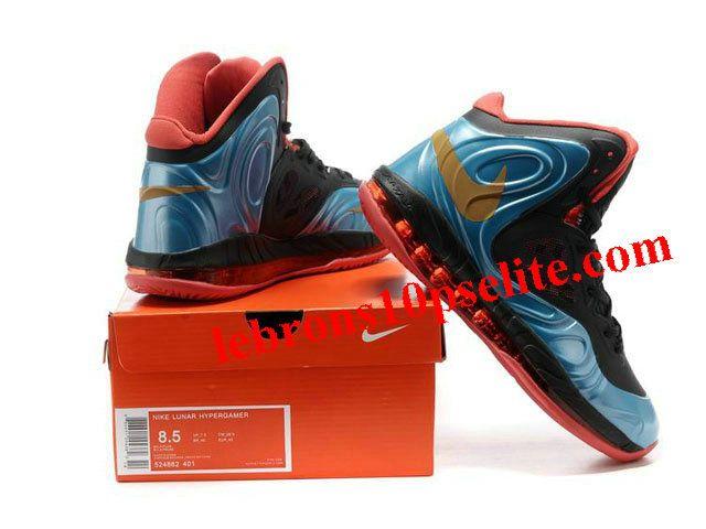 df466d0d376 Nike Air Max Hyperposite Stoudemire Shoes Blue Black Red