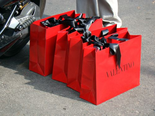 Valentino- I know I would want the goody in the bag  50da9dd3442