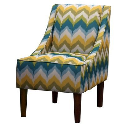 mid century modern swoop chair zig zag target this would go great in the man loft ian. Black Bedroom Furniture Sets. Home Design Ideas