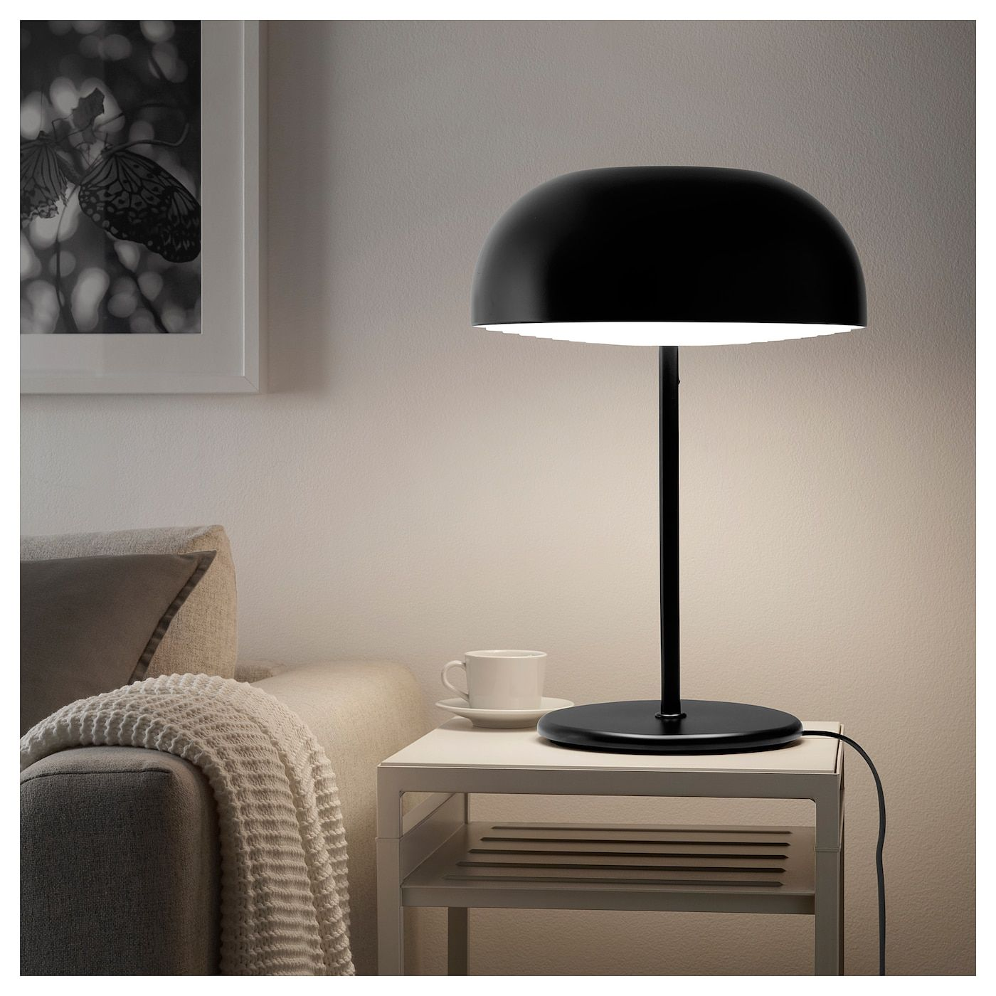 Nymane Bordslampa Antracit Ikea Table Lamp Lamp Ikea