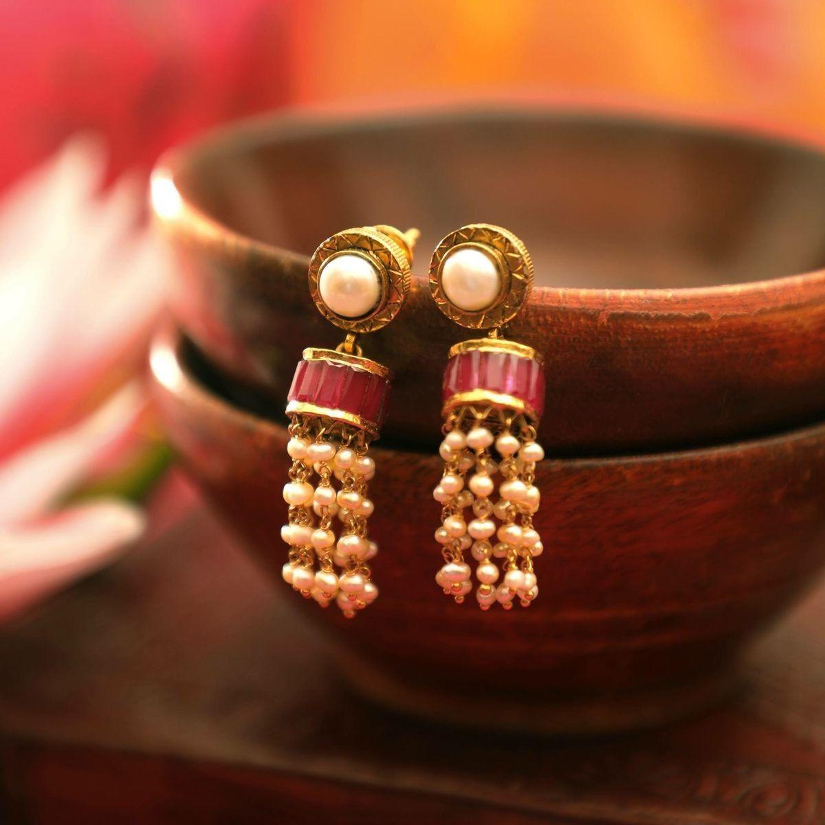 Pin by Valli Amalan on Beads Pinterest Jewel Beautiful earrings
