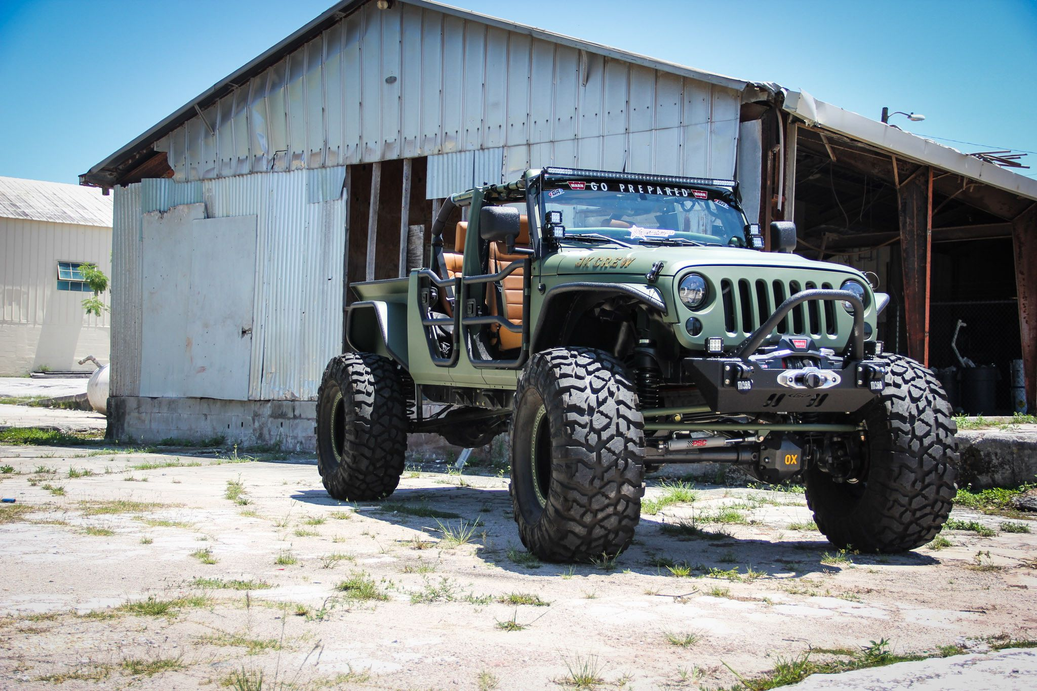 Jeep Wrangler Truck Conversion Meet the JK Crew The JK