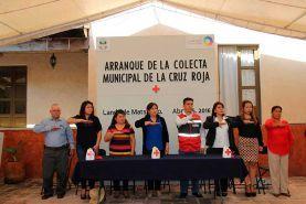 Landa de Matamoros, Qro., a Abril del 2016.- En Centro de Día de Landa de Matamoros, la alcaldesa Mary Amador...