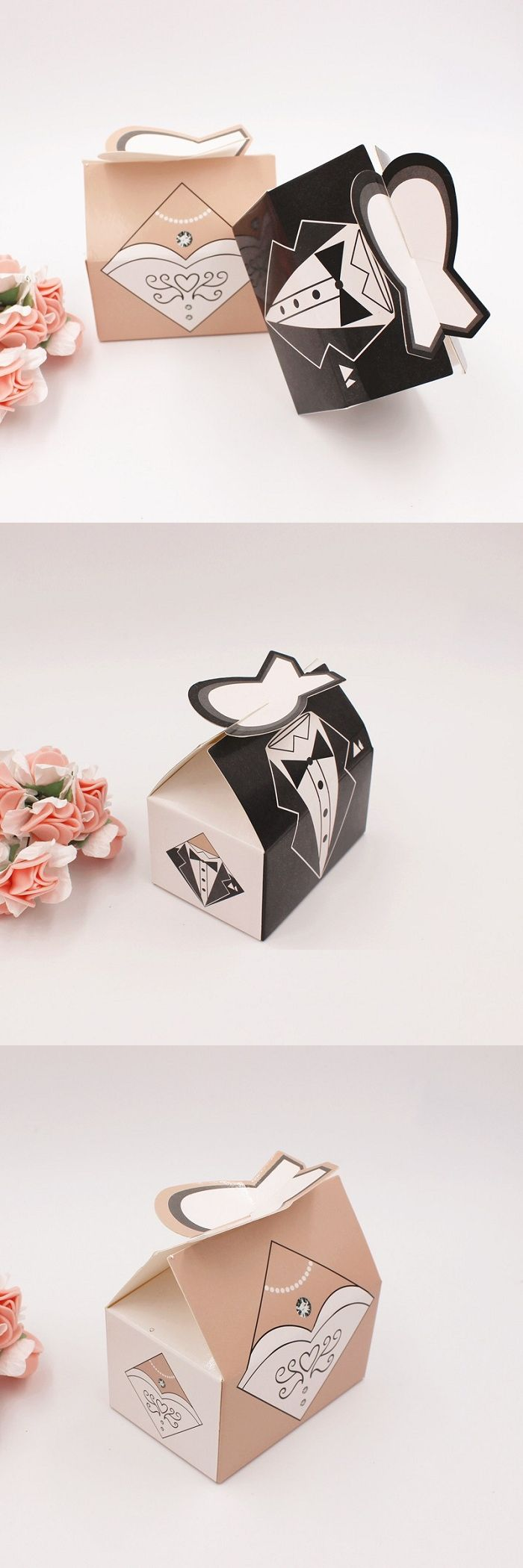 candy box bag chocolate paper gift package for Birthday Wedding ...