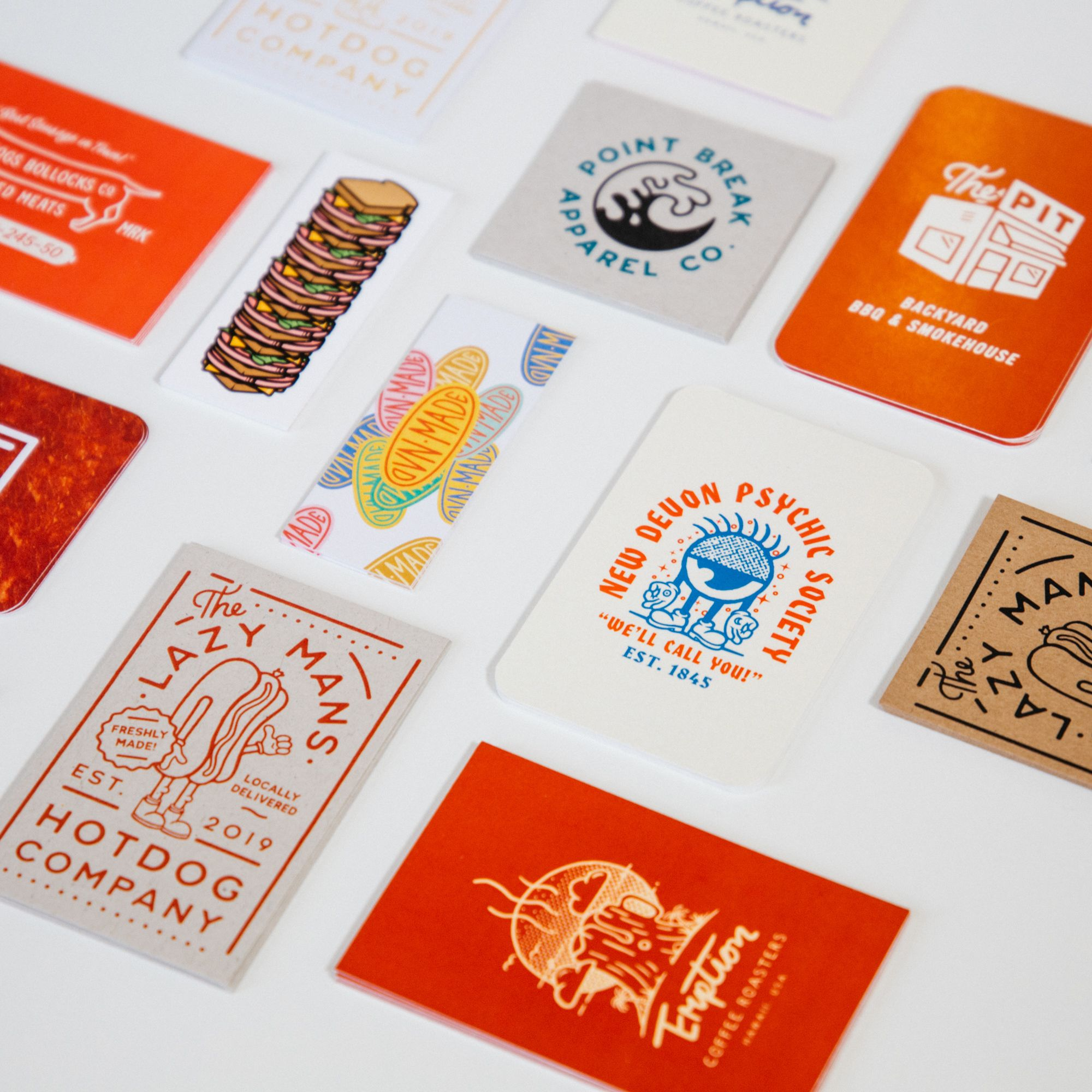 New Business Cards By Bearded Creative Studio Printing Business Cards Business Cards Cards