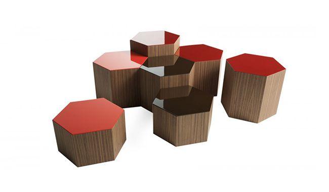 Bross Six Coffee Table Hexagon Coffee Table Coffee And End